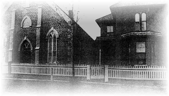 German Evangelical Brethren Church and Parsonage